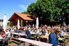 Biergarten vom Upholmhof